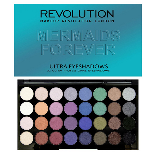 Revolution Paletka 32 očních stínů Mermaids Forever