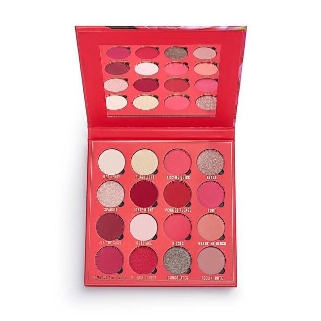 Makeup Obsession Paletka očních stínů Kisses (Shadow Palette) 20,8 g