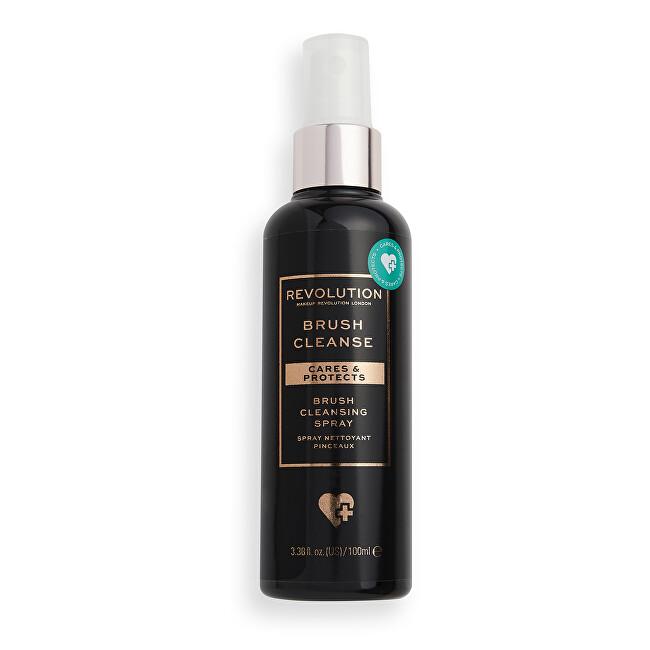 Revolution Čistič na kozmetické štetce Care s & Protect (Brush Cleansing Spray) 100 ml