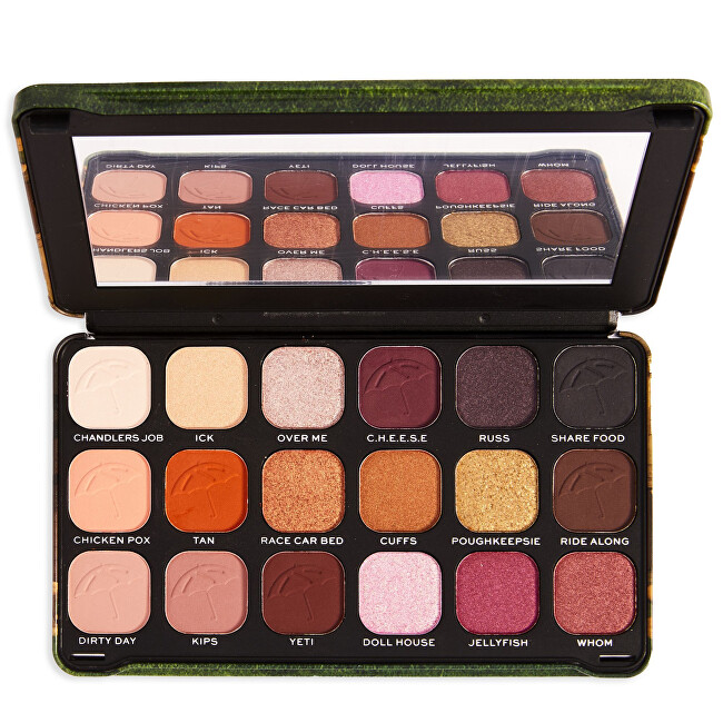 Revolution Paletka očných tieňov X Friends Forever Flawless I`ll Be There For You (Shadow Palette) 19,8 g
