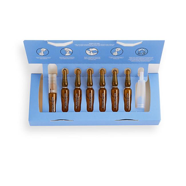 Revolution Skincare 7 denný starostlivosť o mastnú pleť Ampoules Salicylic Acid (7 Day Blemish Preventing Skin Plan) 7 x 2 ml