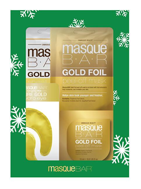 masqueBAR Darčeková sada pleťových masiek ( Gold Gift Set)