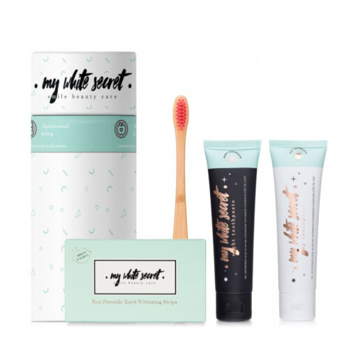 My White Secret Darčeková sada dentálnej hygieny Gift Pack