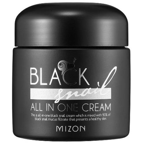 Fotografie Pleťový krém s filtrátem sekretu Afrického černého hlemýždě 90% (Black Snail All In One Cream) 75 ml