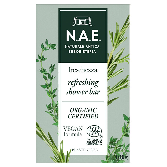 N.A.E. Tuhé tělové mýdlo Freschezza (Refreshing Shower Bar) 100 g