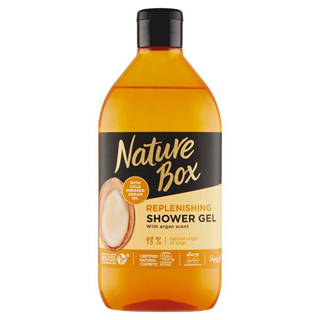 Nature Box Přírodní sprchový gel Argan Oil (Replenishing Shower Gel) 385 ml