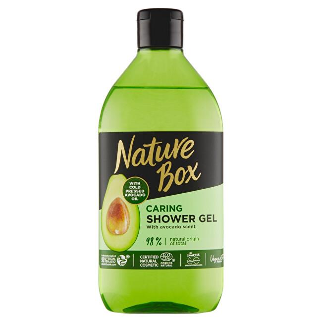Nature Box Přírodní sprchový gel Avocado Oil (Shower Gel) 385 ml
