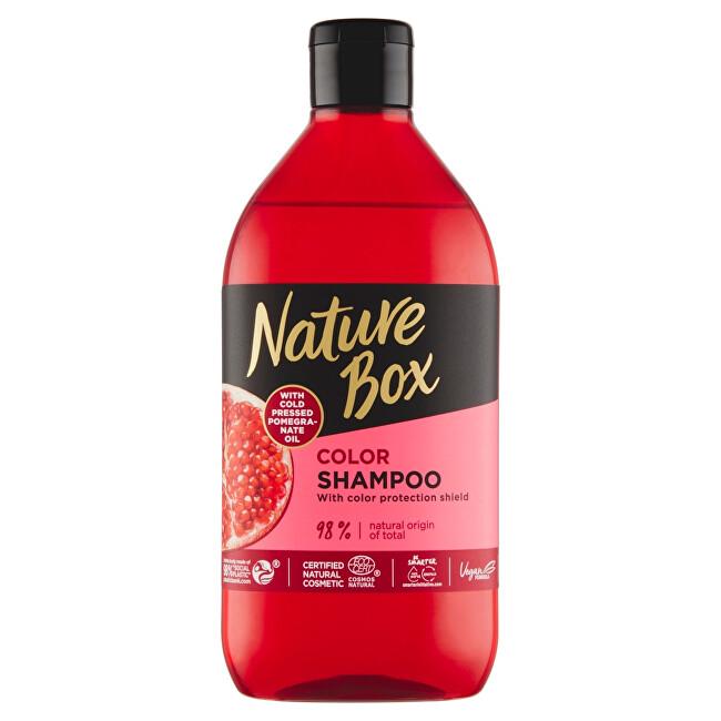 Nature Box Šampon na vlasy Granátové jablko (Shampoo) 385 ml