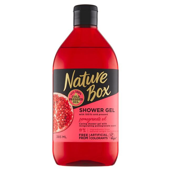 Nature Box Sprchový gel Granátové jablko (Shower Gel) 385 ml