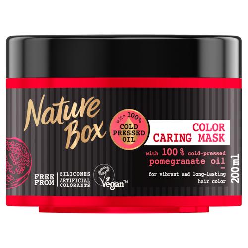 Nature Box Vyživující maska na vlasy Granátové jablko (Recovery Mask) 200 ml