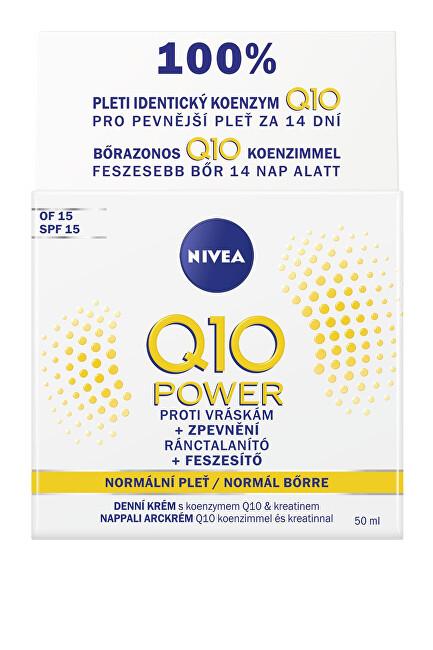 Nivea Zpevňující denný krém proti vráskam Q10 Power 50 ml