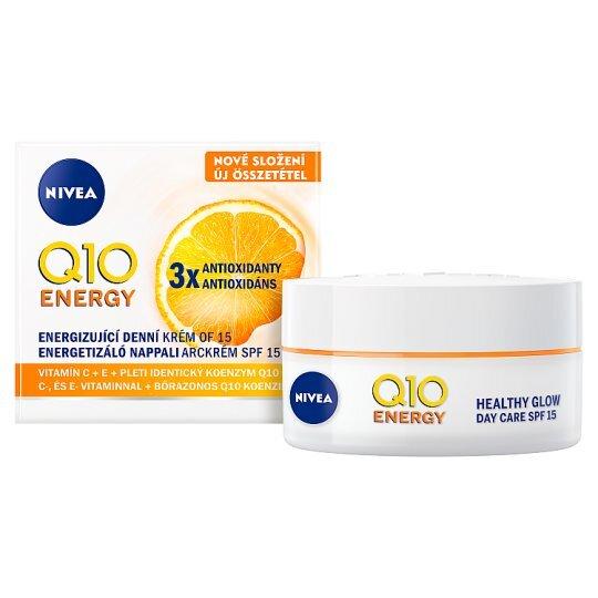 Nivea Energizujúci denný krém proti vráskam SPF 15 Q10 Energy 50 ml