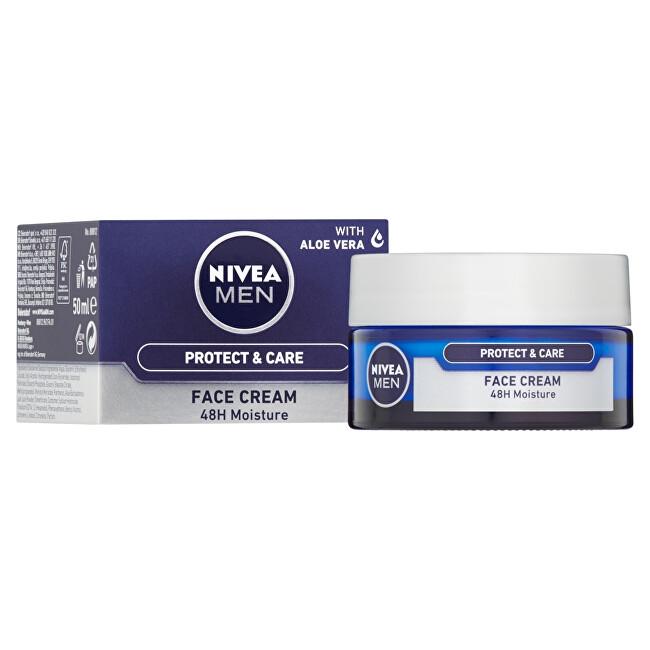 Nivea Intenzívny hydratačný krém pre suchú pleť pre mužov ( Face Care ) 50 ml