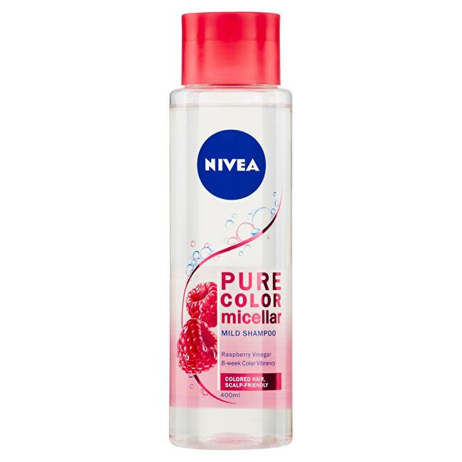 Nivea Jemný micelárny šampón pre farbené vlasy Pure Color (Micellar Shampoo) 400 ml