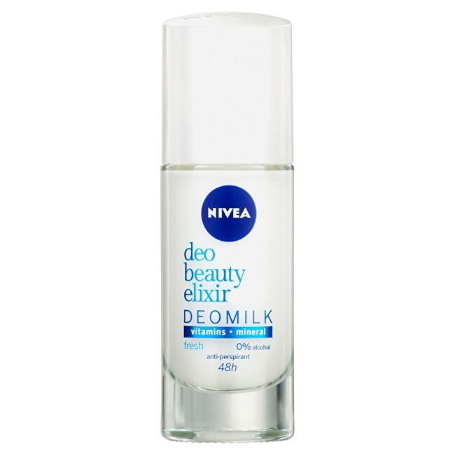 Nivea Guľôčkový antiperspirant Deo Beauty Elixir Deomilk Fresh 40 ml