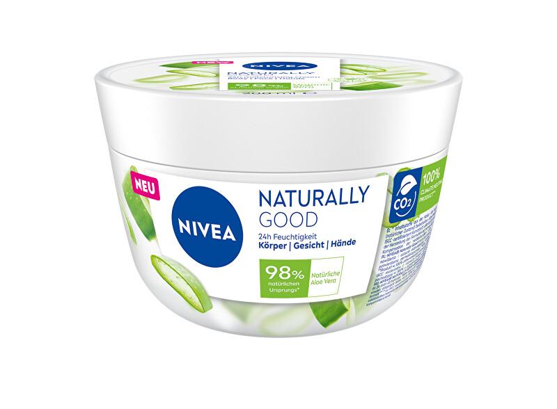Nivea Hydratačný krém na tvár, telo a ruky Natura l ly Good (Cream) 200 ml