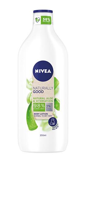 Nivea Tělové mlieko Naturally Good Aloe Vera (Body Lotion) 350 ml