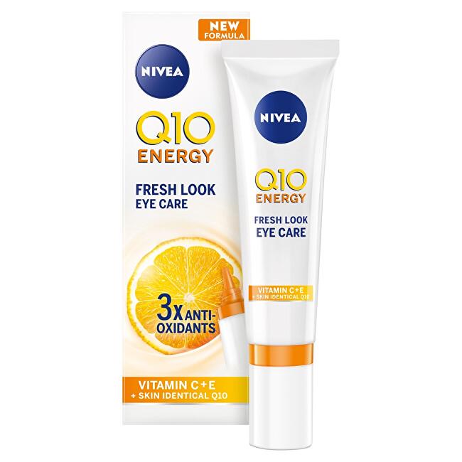 Nivea Energizujúci očný krém proti vráskam Q10 Energy ( Fresh Look Eye Care ) 15 ml