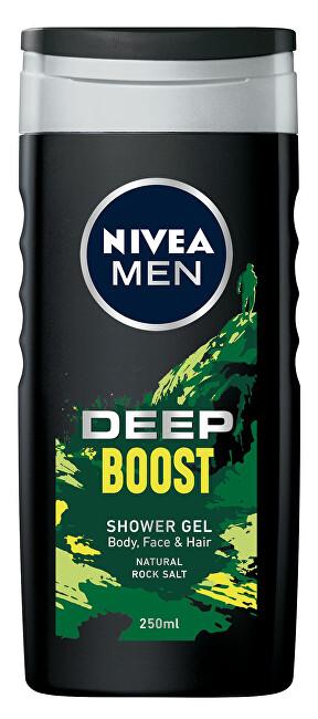 Nivea Sprchový gél pre mužov Deep Boost (Shower Gel) 250 ml