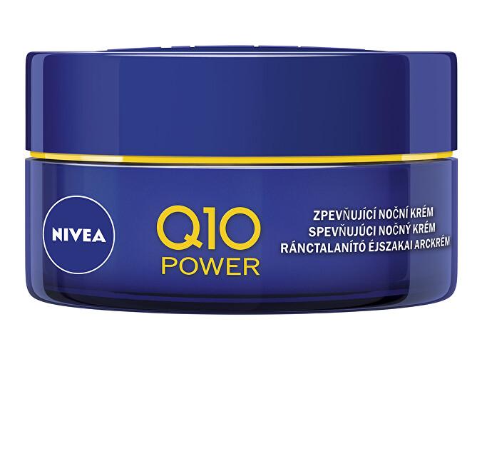 Nivea Zpevňující nočný krém proti vráskam Q10 Power 50 ml