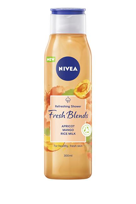 Nivea Osviežujúci sprchový gél Fresh Blends Apricot, Mango, Rice Milk (Refreshing Shower) 300 ml