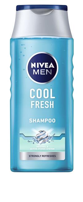Nivea Ošetrujúci šampón pre mužov Cool Fresh ( Care Shampoo) 250 ml