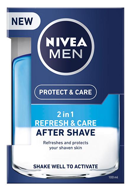 Nivea Ošetrujúce voda po holení 2v1 Men Refresh & Care 100 ml