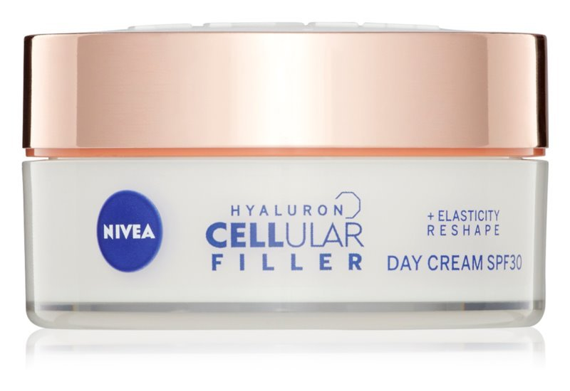 Nivea Remodelačný denný krém Hyaluron Cellular Filler SPF 30 (Elasticity Day Cream) 50 ml