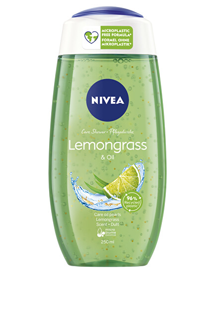 Nivea Sprchový gél Lemongrass & Oil 250 ml