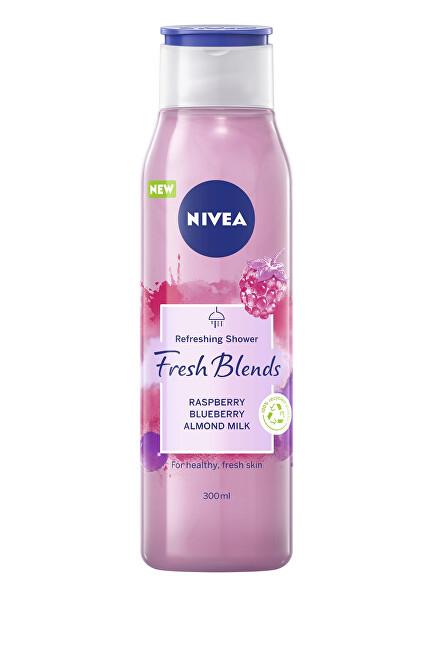 Nivea Sprchový gél s vôňou malín a čučoriedok Fresh Blends (Refreshing Shower) 300 ml