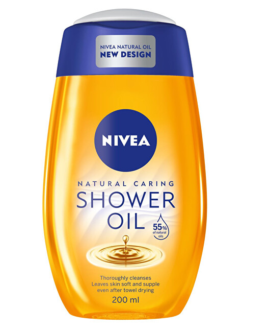 Nivea Sprchový olej pre veľmi suchú pokožku Natural Oil 200 ml