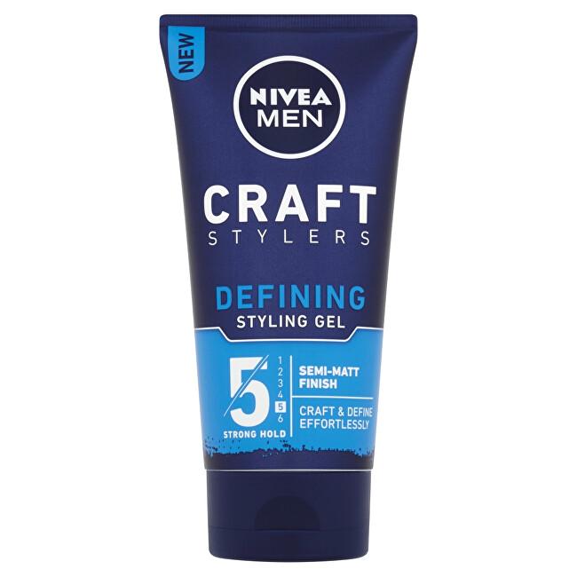 Nivea Stylingový gél na matný vzhľad vlasov pre mužov (Defining Styling Gel) 150 ml