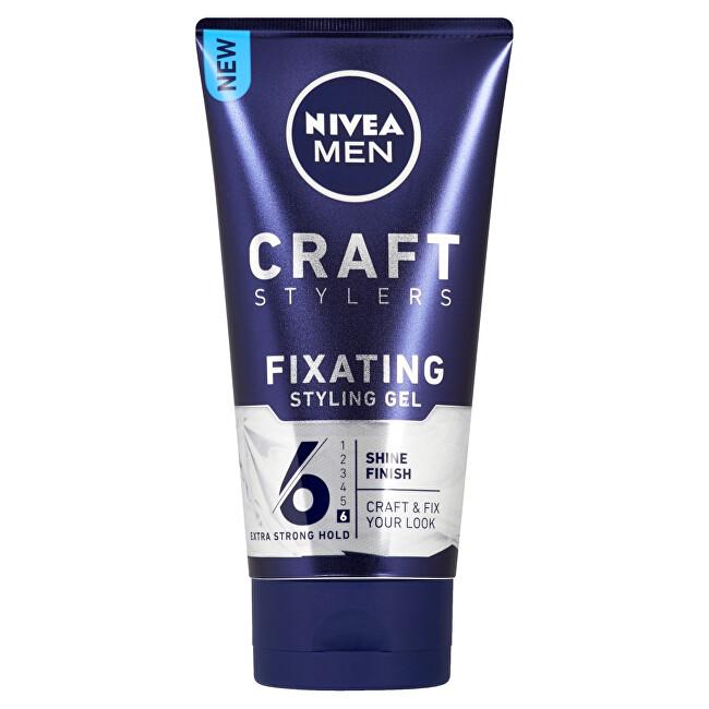 Nivea Stylingový gél pre lesk vlasov Men (Fixating Styling Gel) 150 ml