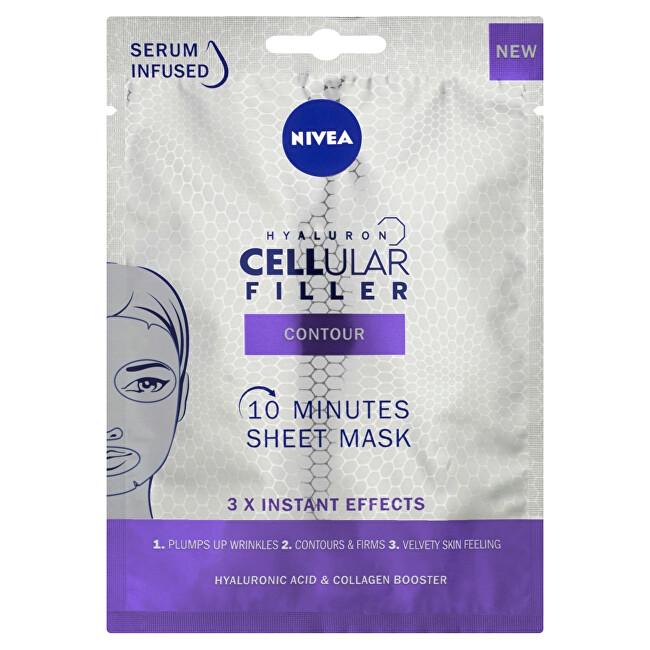 Nivea Textilní 10 minutová maska Cellular Filler (10 Minutes Sheet Mask) 1 ks
