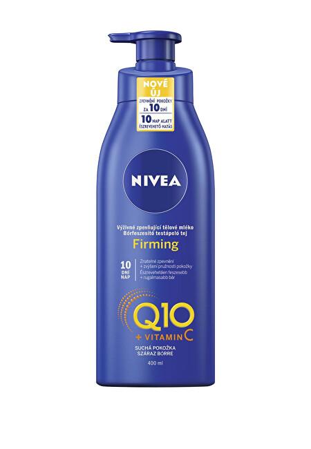 Nivea Výživné spevňujúce telové mlieko pre suchú pokožku Q10 Plus (Firming) 400 ml