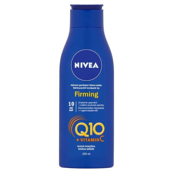 Nivea Výživné spevňujúce telové mlieko Q10 Energy + 250 ml