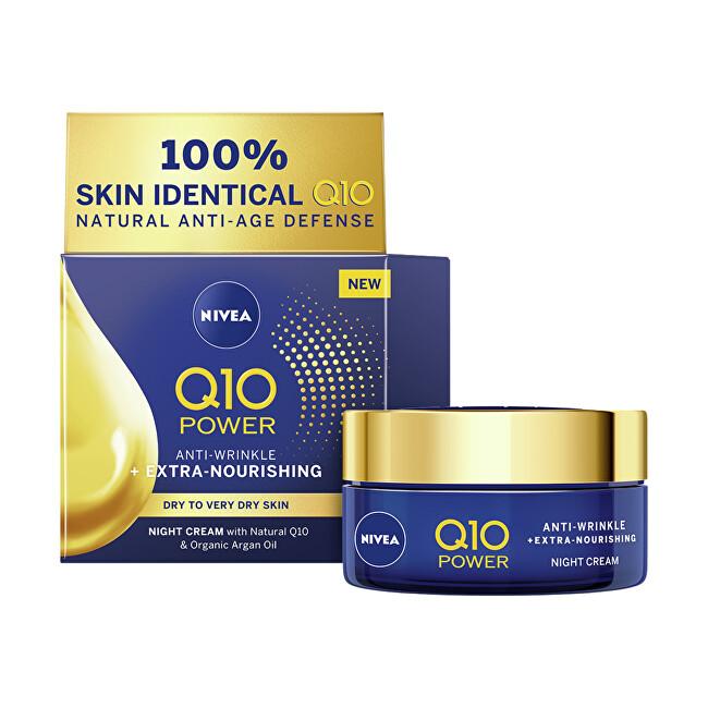 Nivea Výživný nočný krém proti vráskam Q10 Power ( Anti-Wrinkle Extra Nourishing Night Cream) 50 ml