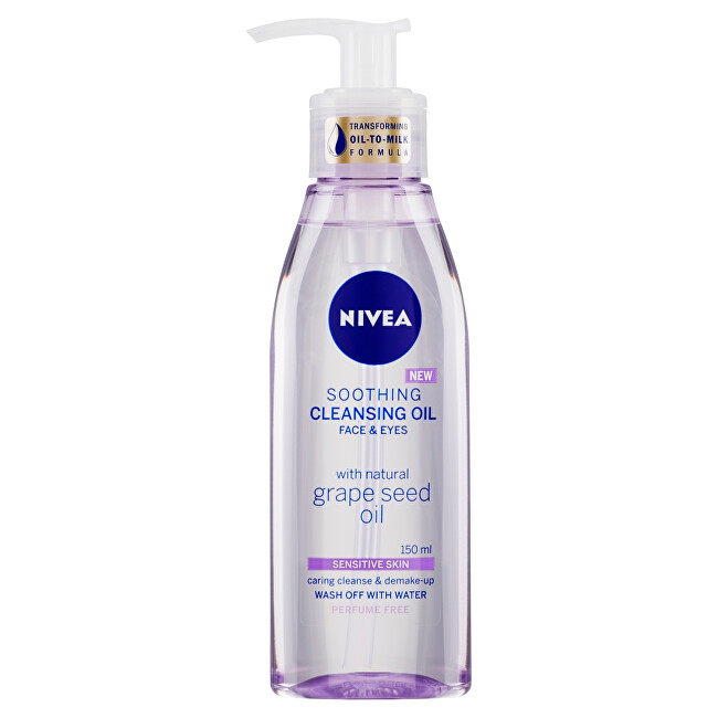 Nivea Upokojujúce čistiace pleťový olej na citlivú pleť (Soothing Clean ing Oil) 150 ml
