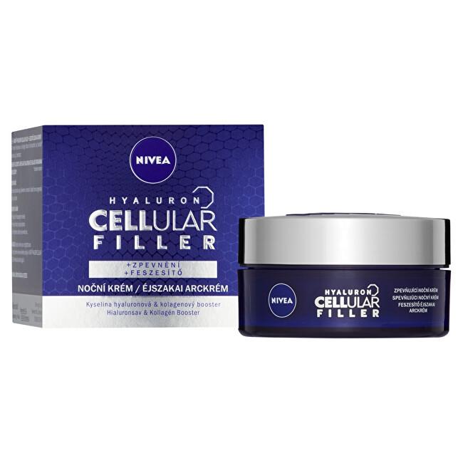 Nivea Zpevňující nočný krém Hyaluron Cellular Filler 50 ml