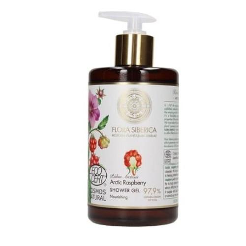 Flora Siberica Výživný sprchový gel Arctic Raspberry (Nourishing Shower Gel) 480 ml
