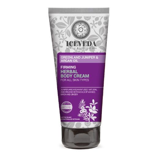Iceveda Zpevňující tělový krém Greenland Juniper & Argan Oil (Firming Herbal Body Cream) 200ml