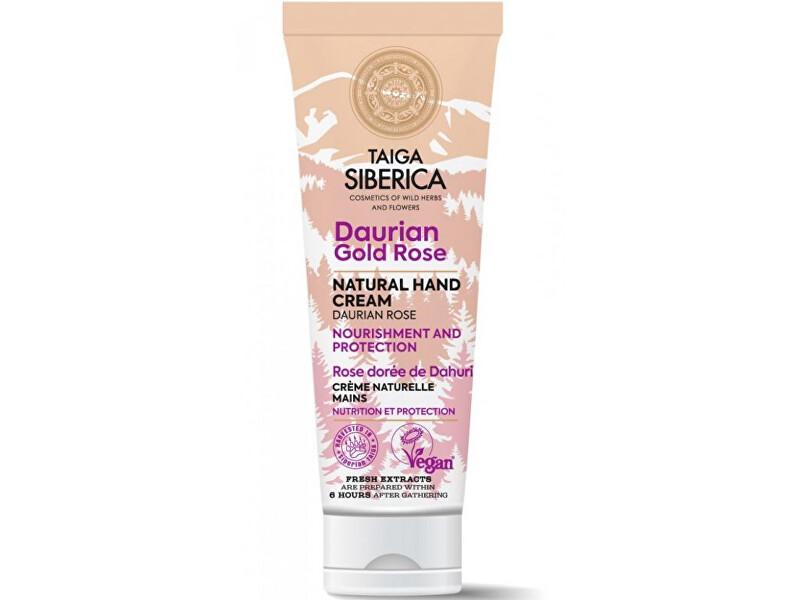 Natura Siberica Prírodný krém na ruky Daurinská zlatá ruža Taiga siberica ( Natura l Hand Cream) 75 ml