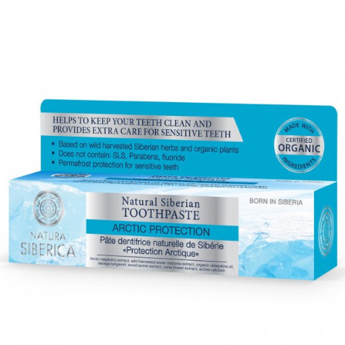 Natura Siberica Prírodná zubná pasta Artic Protection (Toothpaste) 100 g