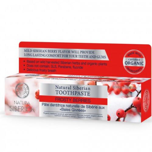 Natura Siberica Přírodní zubní pasta Frosty Berries (Toothpaste) 100 g