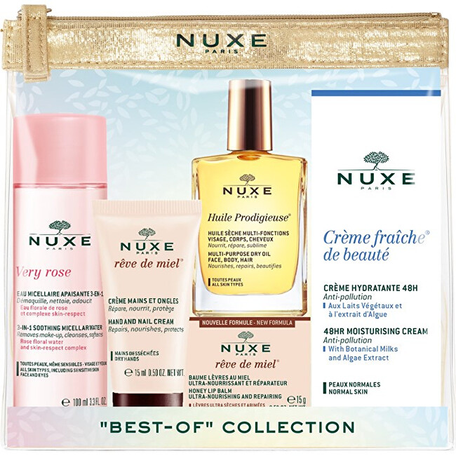 Nuxe Cestovná sada Travel With Nuxe Best-Of-Collection Set 190 ml