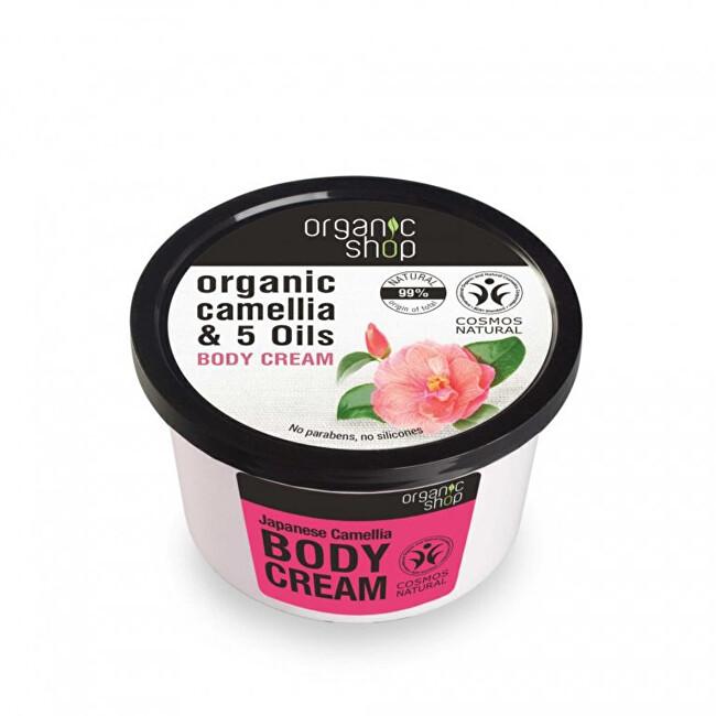 Organic Shop Tělový krém Japonská kamélie (Body Cream) 250ml