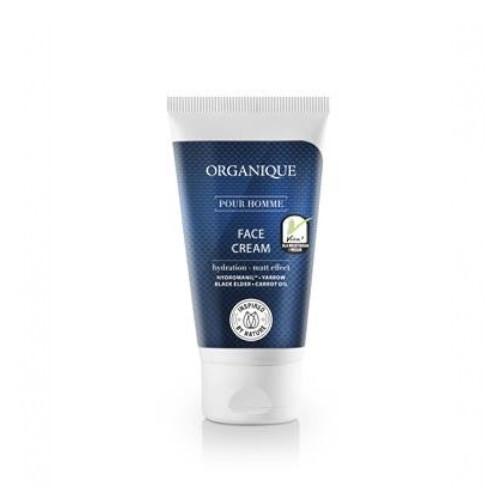 Organique Hydratačný pleťový krém pre mužov Pour Homme (Face Cream) 50 ml