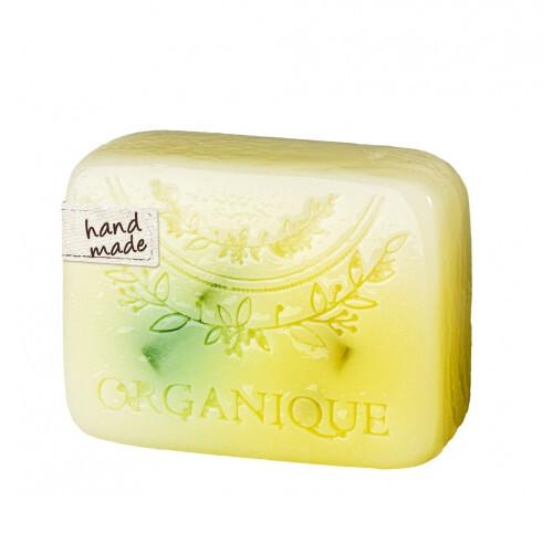 Organique Tuhé glycerínové mydlo Citrónová tráva (Glycerine Soap) 100 g