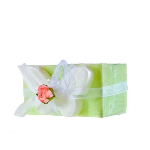 Organique Tuhé glycerínové mydlo Green Butterfly (Glycerine Soap) 120 g