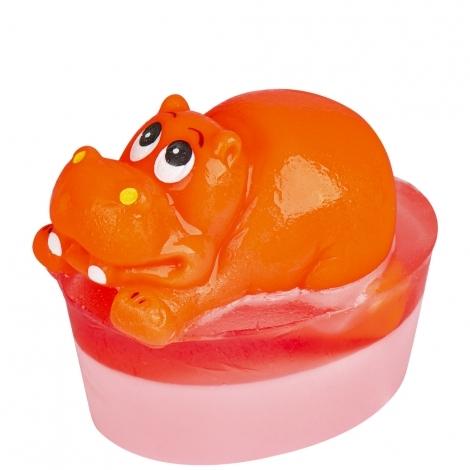 Organique Tuhé glycerínové mydlo Hippopotam (Glycerine Soap) 80 g